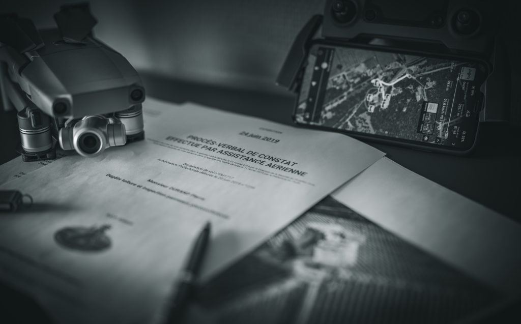 Constat Drone Huissier de Justice, The French Drone centre de formation