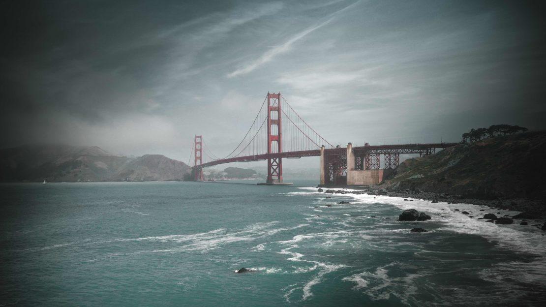 Golden Gate Bridge Mavic 2 Pro San Fransico