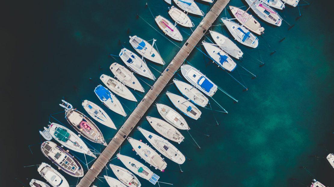 Port de Nyon en Suisse