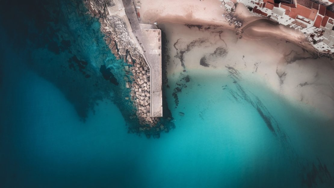 Dock de Cefalù en Sicile