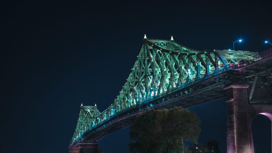 Pont Jacques Cartier Montreal Quebec Canada